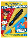 Mattel Pictionary Air Kids vs Grown-Ups Family Drawing Game, Links to Smart Devices, Gift for Kid, Family & Adult Game Night, Ages 6 Years & Older