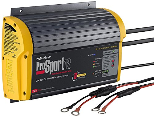 ProMariner ProSport 12 Gen 3 Heavy Duty Recreational Series On-Board Marine Battery Charger - 12 Amp - 2 Bank