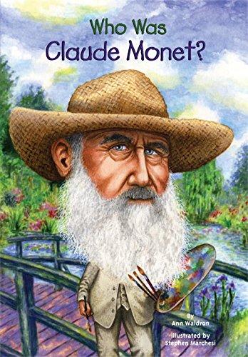 『Who Was Claude Monet?』のカバーアート