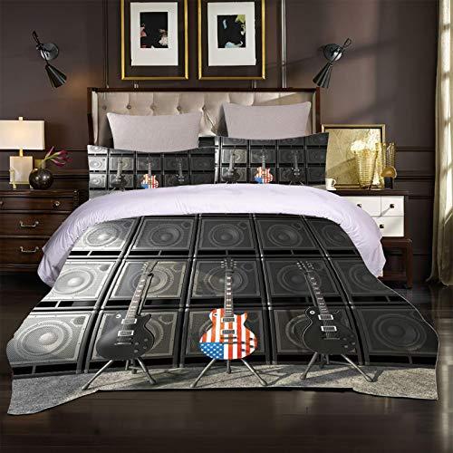 GUOTING Dormitorio Niña Ropa De Cama para Cunas 3D...