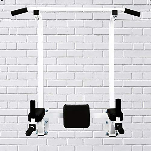 Dip Stands Multifuncional montado en la pared barra del levantamiento del cuerpo superior del entrenamiento Bar puerta del gimnasio Chin encima for Indooe entrenamiento de la gimnasia Equipo de Ejerci
