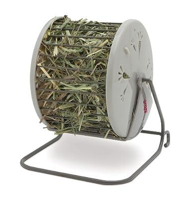 Living World Spinning Hay Dispenser Wheel, 13 x 13 x 15 cm from R C Hagen (UK) Ltd