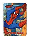 Marvel Spiderman Fleecedecke 100x150cm Kuscheldecke