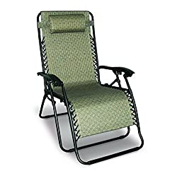 Extra Wide Reclining Camping Chair