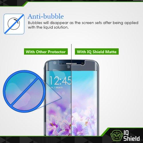 IQ Shield Matte Screen Protector Compatible with Galaxy Note 8 (Case Friendly)(2-Pack) Anti-Glare Anti-Bubble Film