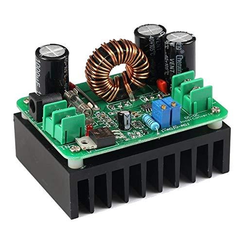 Módulo de fuente de alimentación DC/DC convertidor del alza 10-60V for 12-80V elevador de tensión del regulador automático 600W Fuente de alimentación Transformador voltios de salida ajustable