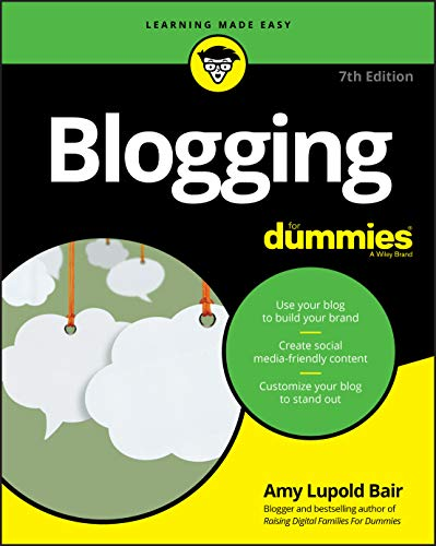 Blogging For Dummies, 7th E