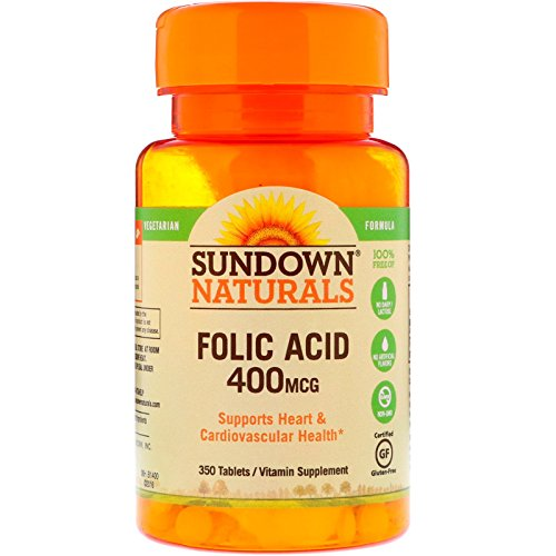 Sundown Folic Acid 400 Mcg, 350 Count