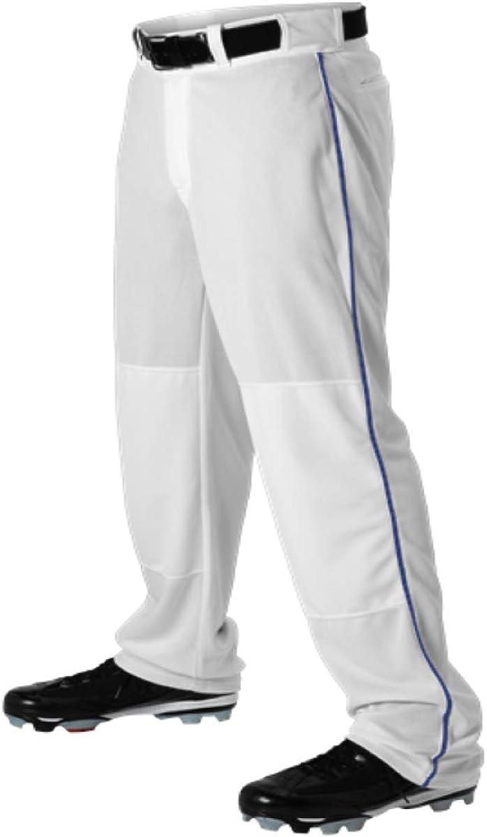 Teamwork Youth Baseball Pants Product White w Bot Translated Open Medium Royal Pipe