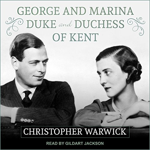 George and Marina audiobook cover art