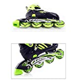 XBTECH 4 Roues Homme Fille Fille Fitness pour Les Femmes Inline Skate Safe Durable for Beginners Advanced Respirant Rollerblade Patinage Extérieur