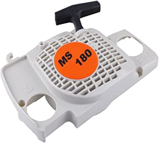 SaferCCTV Rewind Recoil Pull Starter Assembly with Start Handle Replacement for Stihl 017 018 Ms170 Ms180 Chainsaw Replace...