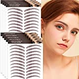 Aresvns 4D Tattoo Eyebrow 99 Pairs! Newly Improved Hair-Like Authentic Eyebrows,Realistic Imitation Eyebrow Tattoo Stickers Waterproof,Popular Brown Eyebrow Transfers,Beautiful Brow Tattoo for Women Girls