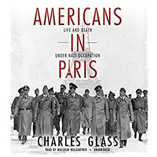 Americans in Paris audiobook cover art