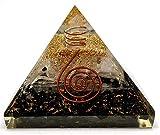 Black Tourmaline Selenite Orgonite Pyramid...