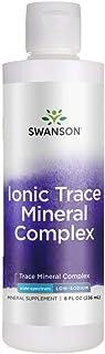 Swanson Ionic Trace Mineral Drops 8 fl Ounce (236 ml) Liquid