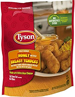 Tyson Fully Cooked Honey Battered Breast Tenders, 25.5 oz. (Frozen)