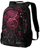 Spiral Blood Rose Rucksack schwarz