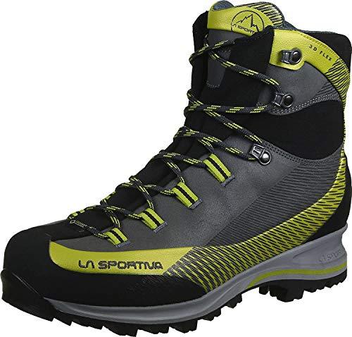 LA SPORTIVA Trango TRK Leather GTX Carbon/Green, Zapatillas de montaña Unisex Adulto,...