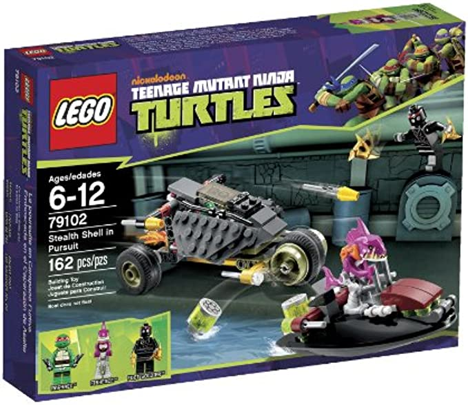 LEGO Ninja Turtles 79102 Stealth Shell in Pursuit