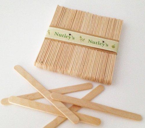 Nutley's Lot de 50 étiquettes en bois pour plants/semis