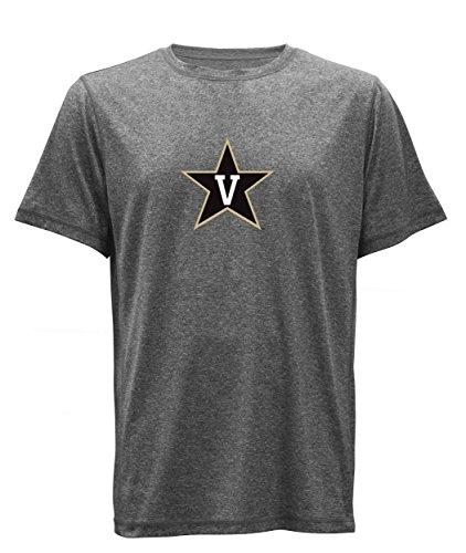 NCAA Compass Herren-T-Shirt, kurzärmelig, Herren, Compass, Schwarz HTH/Schwarz, Large
