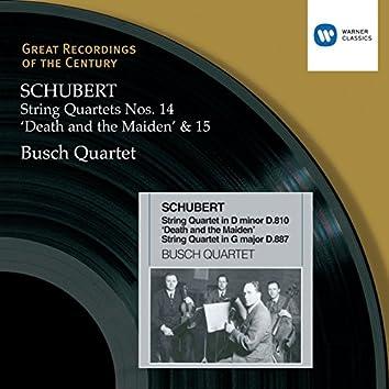 Schubert: String Quartets 14&15