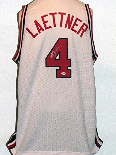 Christian Laettner Autographed Signed USA Jersey
