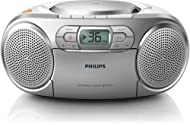 The Philips AZ127/05 Soundmachine is impressive due to its portable design as well as its unique sound. Experience true musical convenience and maximum listening enjoyment Dynamic Bass Boost lets you customise your bass frequencies on this CD Soundma...