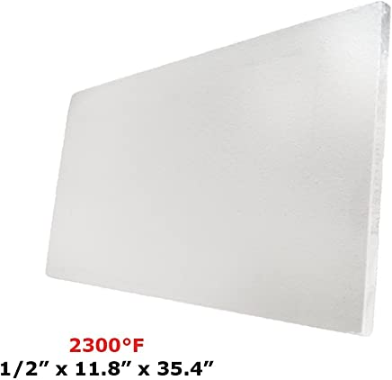 HFK-25 Insulating Fire Brick 1.5 x 4.5 x 9 Rated Up to 2500 Degree Fahrenheit Pack of 10 IFB