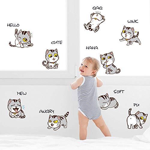 Wandtattoos & Wandbilder Dekorative Selbstklebende Wandpfosten Schlafzimmer Kinderzimmer Stehtisch Korridor Dekoration Selbstklebende Wandpfosten Größe: 30 * 60Cm