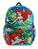 The Little Mermaid - Ariel Deluxe Oversize Print Large 16' Backpack with Laptop Compartment - A19608
