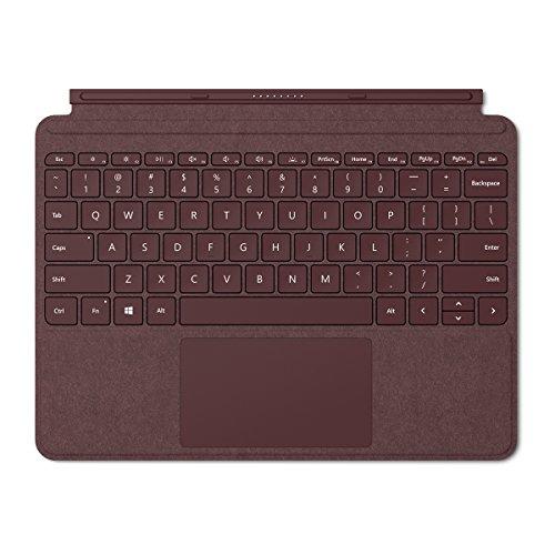Microsoft Surface Go Alcantara Signature Type Cover (KCS-00041) Burgundy