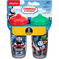 2 Count Playtex Sipsters Stage 3 Thomas The Train Spout Sippy Cups