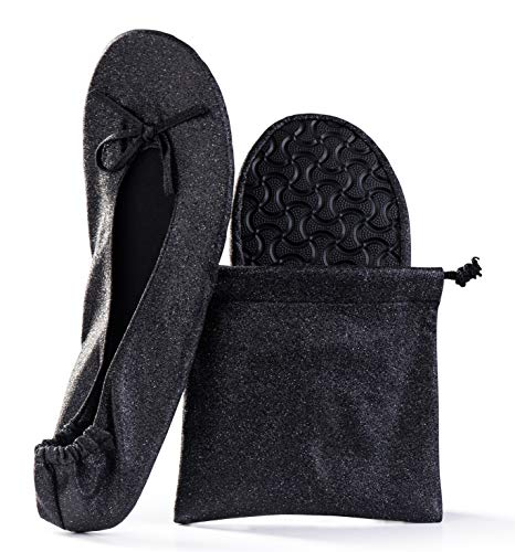 Top 10 best selling list for black sparkle toe flat shoes