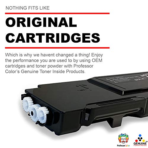 Professor Color Re-Coded OEM Toner Cartridge Replacement for Xerox Phaser 6600 and Xerox WorkCentre 6605 | 106R02228 - High Yield Black (8,000 Pages) Photo #3