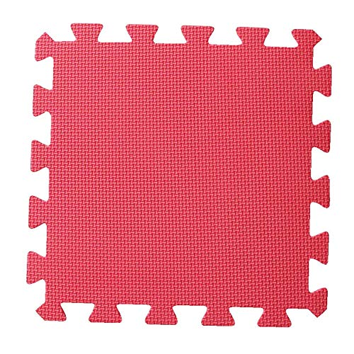 WZHIJUN Tapis de jeu 30 Pièces Enfant Doux Tapis de Bébé Mousse Tapis de Jeu 8 Couleurs (Color : Red, Size : 30pcs Pack)