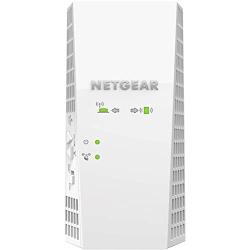 NETGEAR WiFi Mesh Range Extender EX7300 - Coverage up to 2000 sq.ft. and 35 devices with AC2200 Dual Band Wireless Signal Booster & Repeater (up to 2200Mbps speed), plus Mesh Smart Roaming