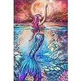 KWzEQ Imprimir en Lienzo Decoración de la Pared de Ocean Fish Princess para Sala de Estar Imagen de Arte de la Pared Carteles de arte30x45cmPintura sin Marco