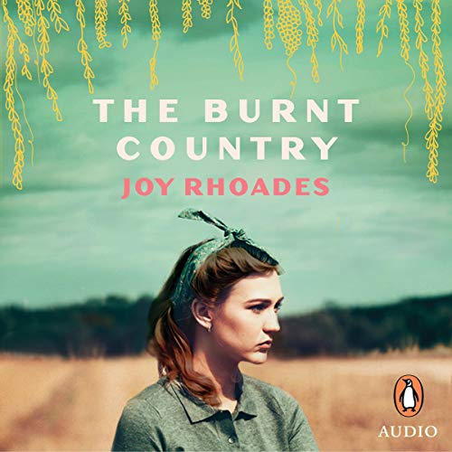 The Burnt Country audiobook cover art