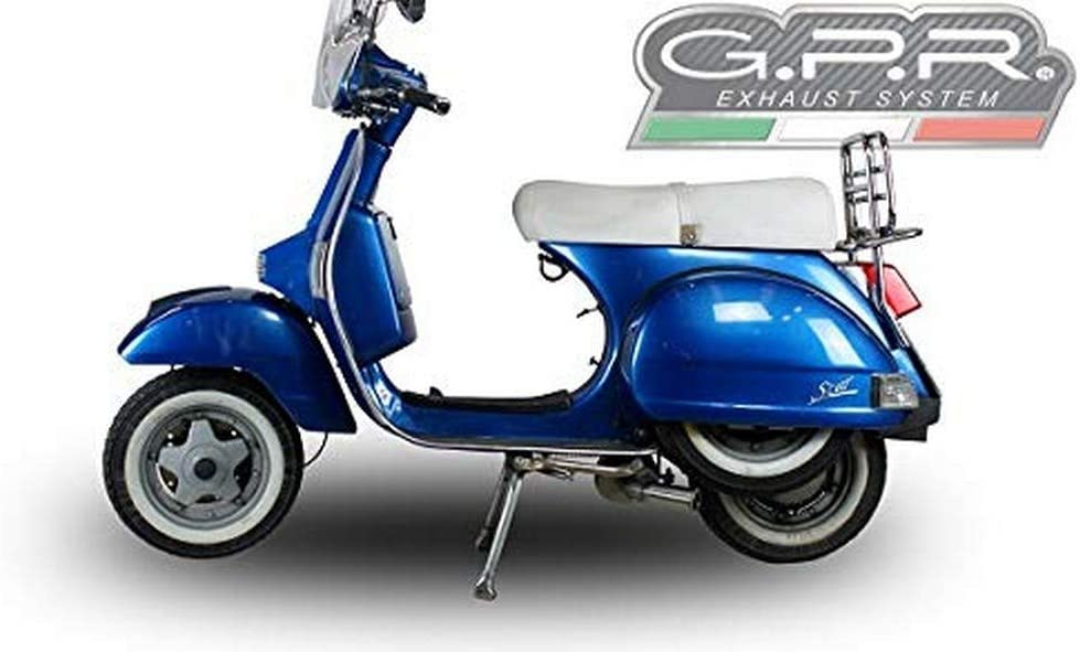 Gpr Italia LML.3.Cat.Ao sistema completo homologado y catalizzato para Scooter LML Star 2002011/20164T a marchas/4ST with GEARS aluminio