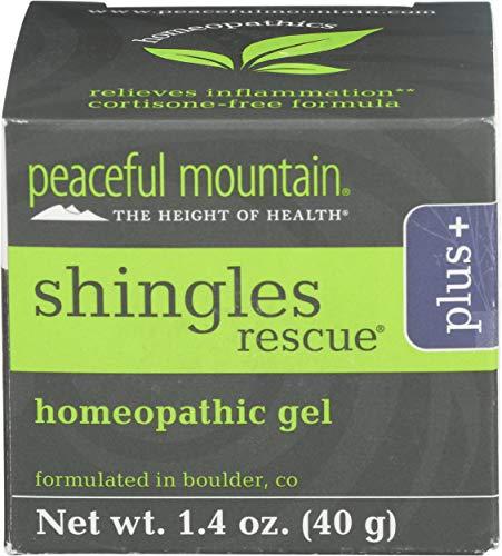Peaceful Mountain Shingles Rescue Homeopathic Gel 1.4 oz....