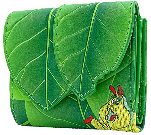 Das große Krabbeln Loungefly - Blatt Frauen Geldbörse grün