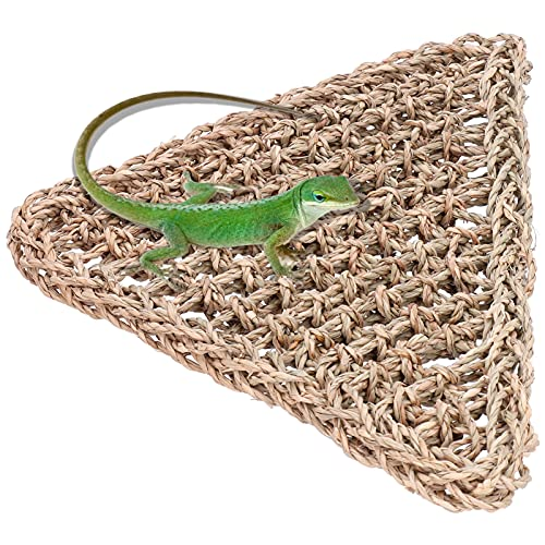 Ödla hängmatta, friska och miljövänliga naturmaterial Reptilhängande säng Lägg till mer klättringsutrymme för både arboreala och terrestriska reptiler