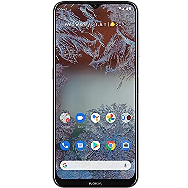 Nokia G10 | Android 11 | Unlocked Smartphone | 3-Day Battery | Dual SIM | US Version | 3/32GB | 6.52-Inch Screen | 13MP…