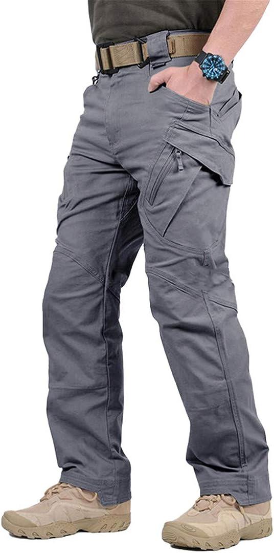 Acampada Y Senderismo Dflyhlh Pantalones Tacticos De Talla Grande Pantalones Cargo Impermeables Pantalones Transpirables Para Hombres Joggers De Trabajo Deportes Y Aire Libre Aceautocare Net