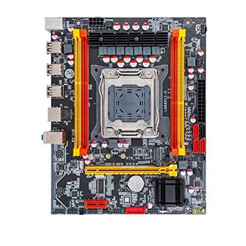 Placa base de computadora con chip Meipai X79, SATA3 PCI-E NVME M.2 SSD compatible con servidor REG ECC de memoria DDR3