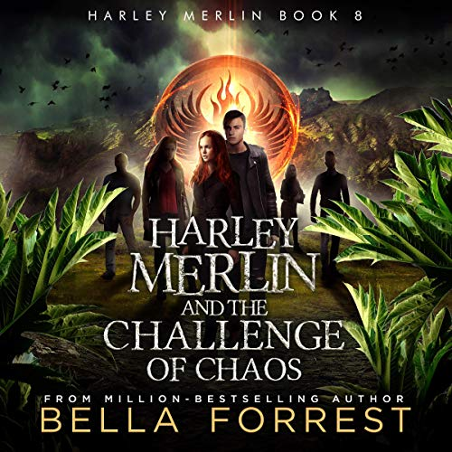 Harley Merlin 8 audiobook cover art