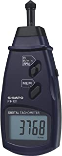 Shimpo PT-121 Contact Tachometer with Imperial Measuring Units