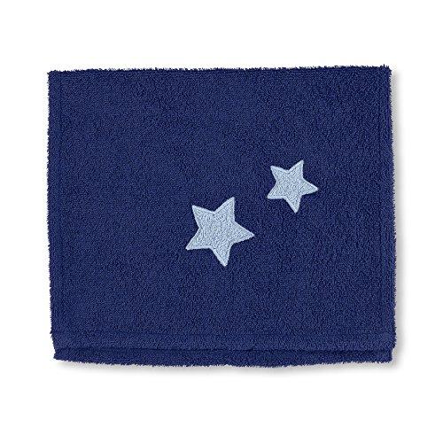 Sterntaler Serviette pour enfants Stanley, Âge: à partir de 0 Mois, 30 x 50 cm, Bleu